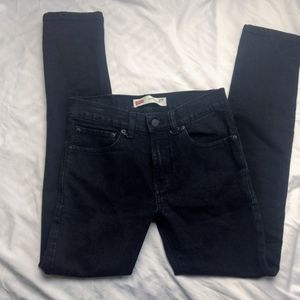 510 Levi's Black Skinny Jeans